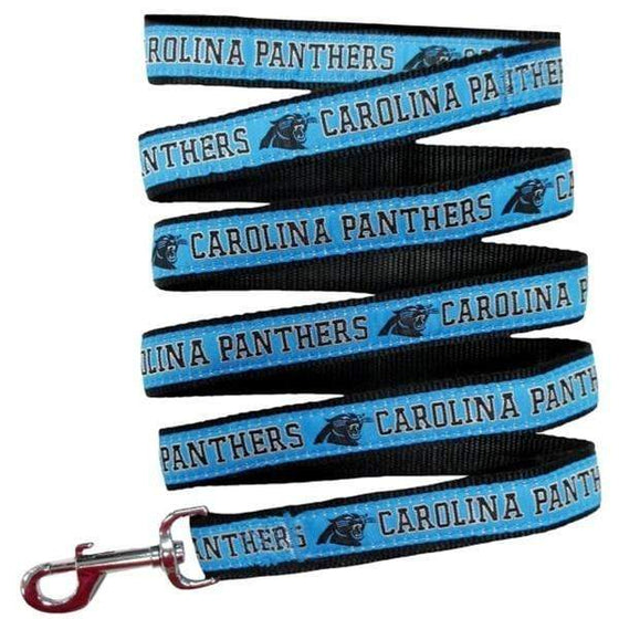 Pets First Dog-products NFL Medium Carolina Panthers Pet Leash By Pets First