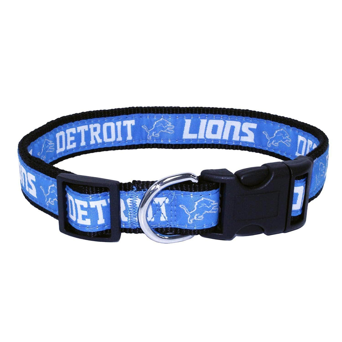 Pets First Dog-products NFL Medium Detroit Lions Pet Collar By Pets First