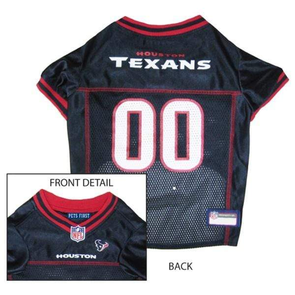 Pets First Dog-products NFL Medium Houston Texans Dog Jersey