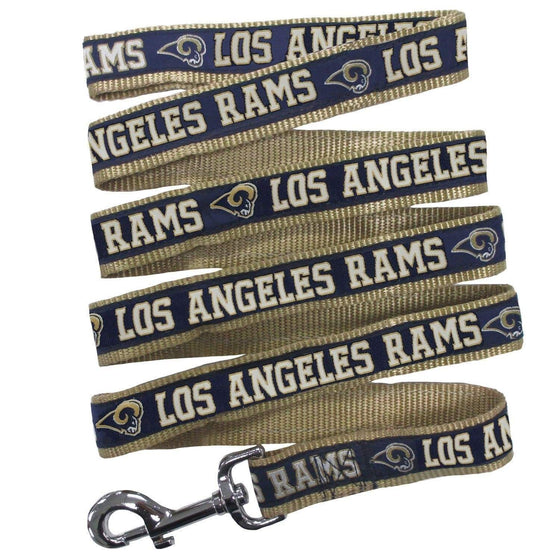 Pets First Dog-products NFL Medium Los Angeles Rams Pet Leash By Pets First