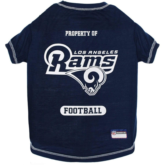 Pets First Dog-products NFL Medium Los Angeles Rams Pet T