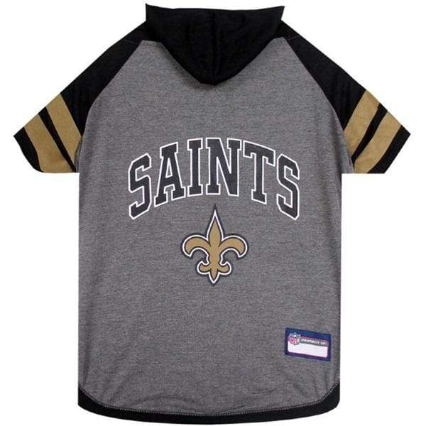 Pets First Dog-products NFL Medium New Orleans Saints Pet Hoodie T
