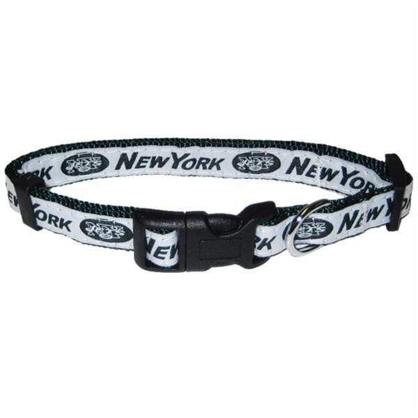 Pets First Dog-products NFL Medium New York Jets Pet Collar By Pets First
