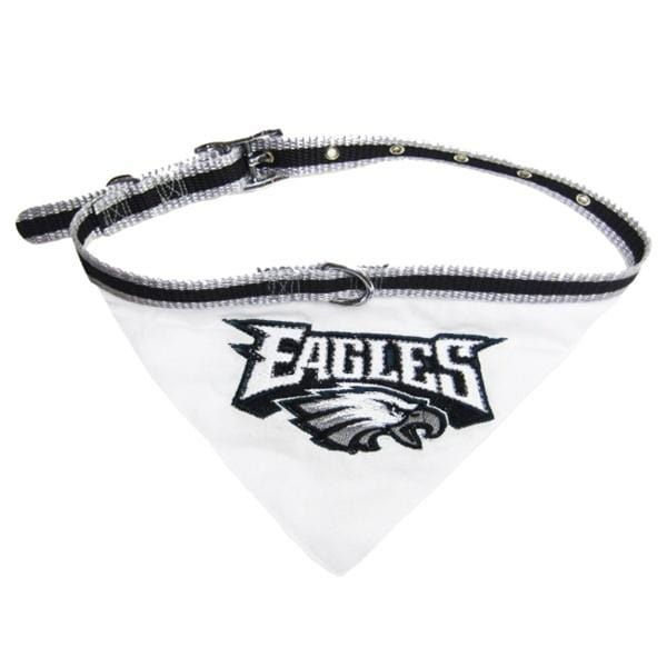 Pets First Dog-products NFL Medium Philadelphia Eagles Dog Collar Bandana