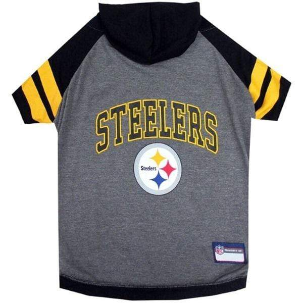Pets First Dog-products NFL Medium Pittsburgh Steelers Pet Hoodie T