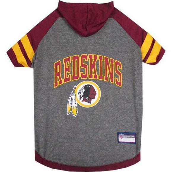 Pets First Dog-products NFL Medium Washington Redskins Pet Hoodie T