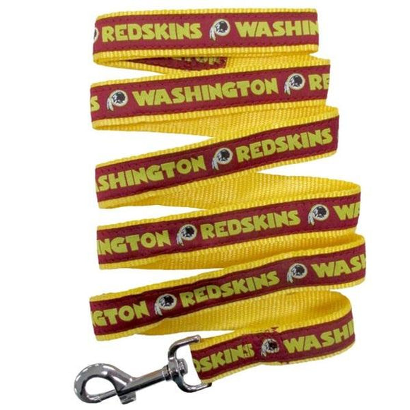 Pets First Dog-products NFL Medium Washington Redskins Pet Leash By Pets First