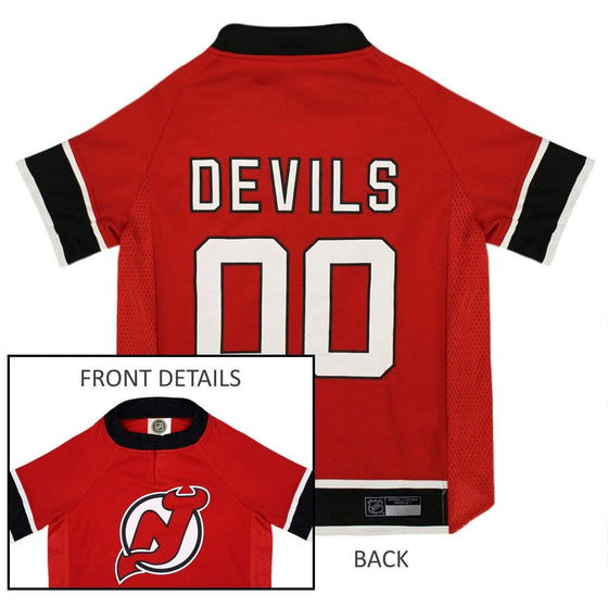 Pets First Dog-products NHL Medium New Jersey Devils Pet Jersey