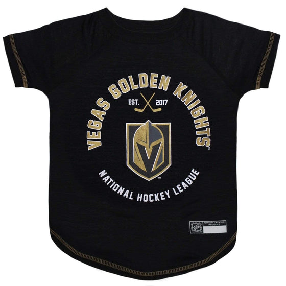 Pets First Dog-products NHL Medium Vegas Golden Knights Pet T