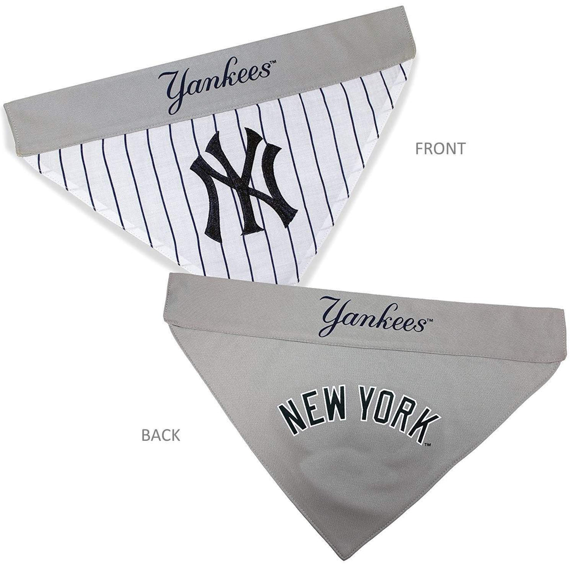 Pets First Dog-products MLB S/M New York Yankees Pet Reversible Bandana