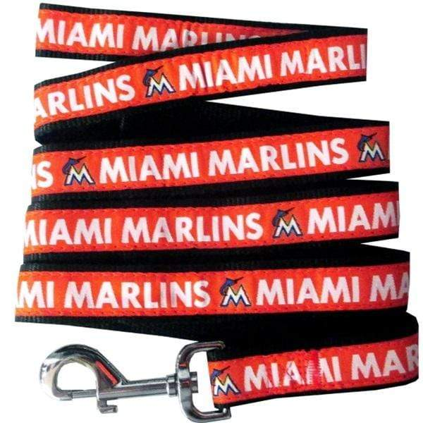 Pets First Dog-products MLB Small Miami Marlins Pet Leash By Pets First