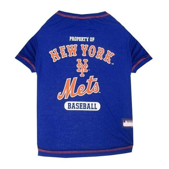 Pets First Dog-products MLB Small New York Mets Pet T