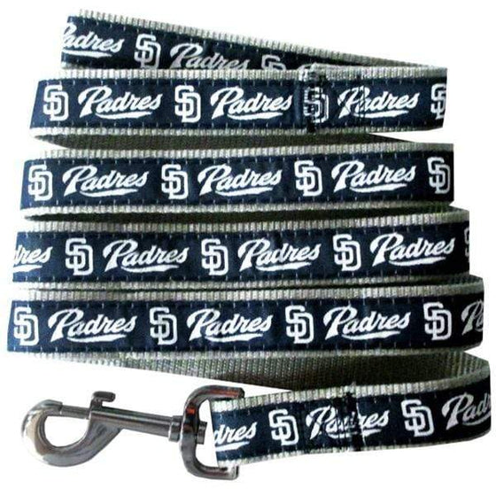 Pets First Dog-products MLB Small San Diego Padres Pet Leash By Pets First