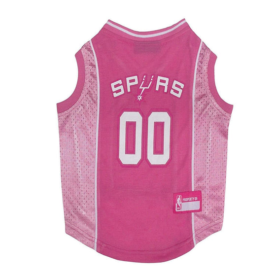 Pets First Dog-products NBA Small San Antonio Spurs Pink Pet Jersey