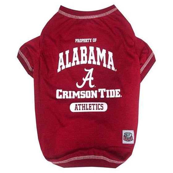Pets First Dog-products NCAA Small Alabama Crimson Tide Pet Tee Shirt
