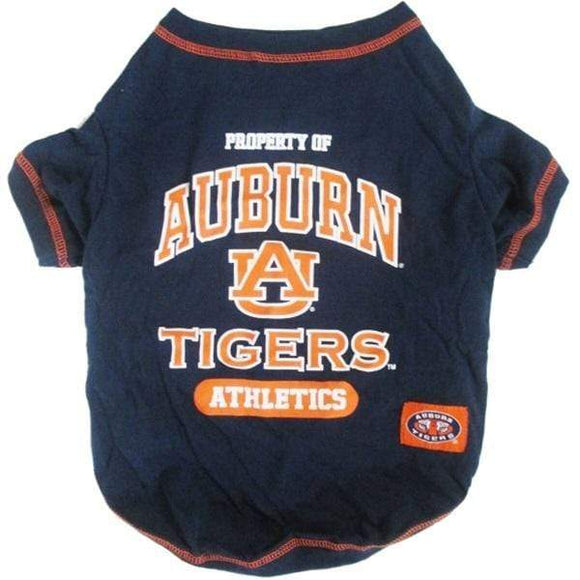 Pets First Dog-products NCAA Small Auburn Tigers Pet Tee Shirt