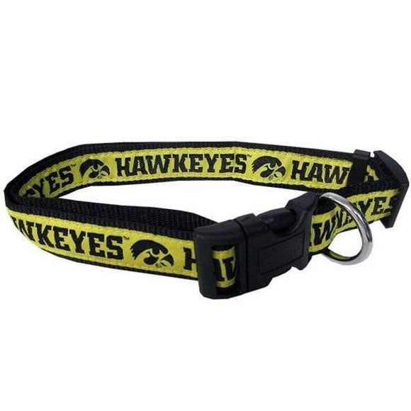 Pets First Dog-products NCAA Small Iowa Hawkeyes Pet Collar By Pets First