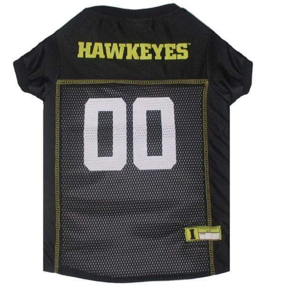 Pets First Dog-products NCAA Small Iowa Hawkeyes Pet Jersey