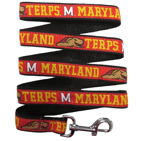 Pets First Dog-products NCAA Small Maryland Terrapins Pet Leash By Pets First
