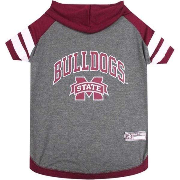 Pets First Dog-products NCAA Small Mississippi State Bulldogs Pet Hoodie T