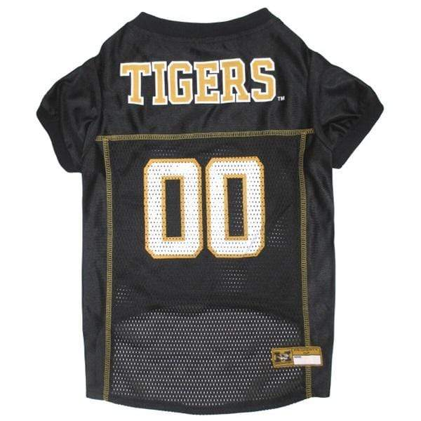 Pets First Dog-products NCAA Small Missouri Tigers Pet Jersey