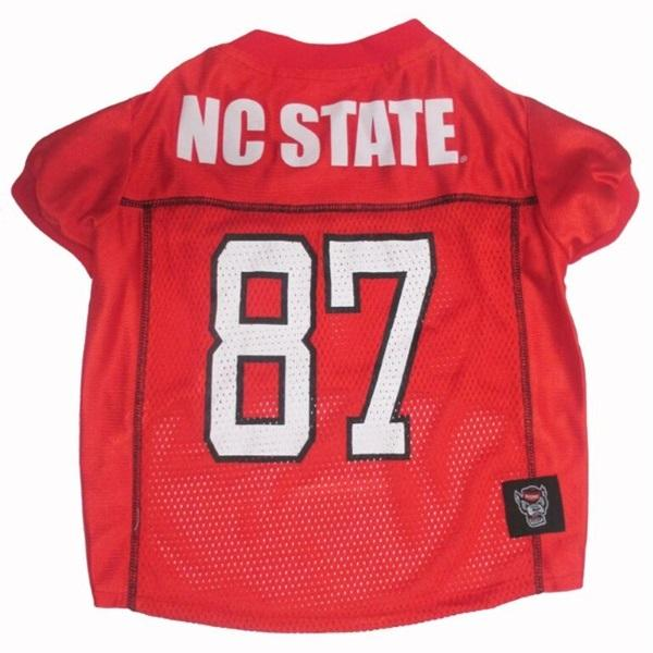 Pets First Dog-products NCAA Small Nc State Wolfpack Pet Jersey