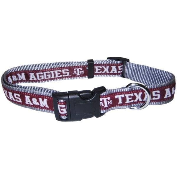 Pets First Dog-products NCAA Small Texas A&m Aggies Pet Collar By Pets First