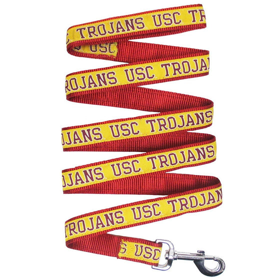 Pets First Dog-products NCAA Small Usc Trojans Pet Leash By Pets First