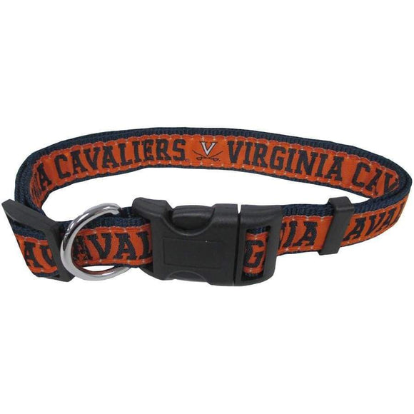 Pets First Dog-products NCAA Small Virginia Cavaliers Pet Collar By Pets First