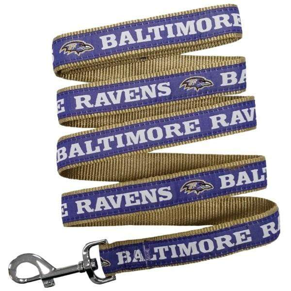 Pets First Dog-products NFL Small Baltimore Ravens Pet Leash By Pets First