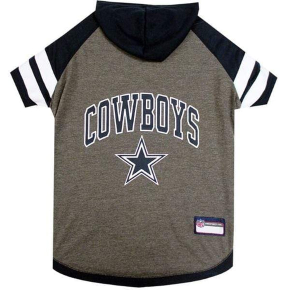 Pets First Dog-products NFL Small Dallas Cowboys Pet Hoodie T