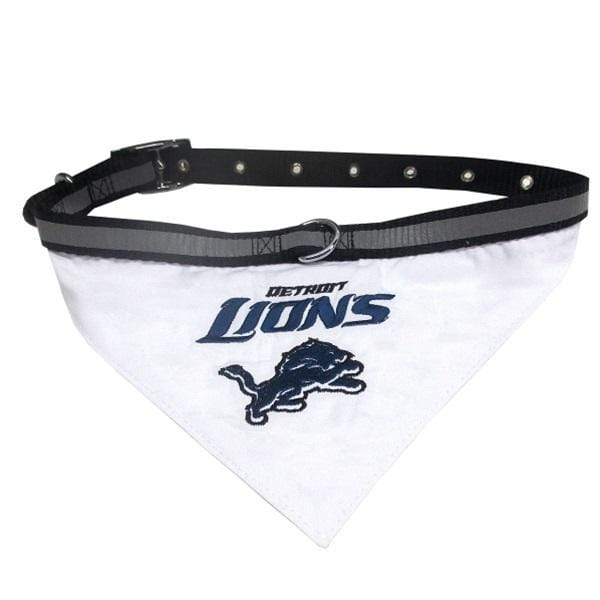 Pets First Dog-products NFL Small Detroit Lions Pet Collar Bandana