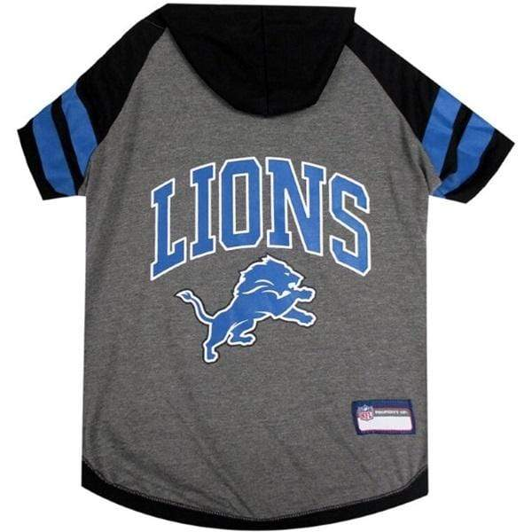 Pets First Dog-products NFL Small Detroit Lions Pet Hoodie T