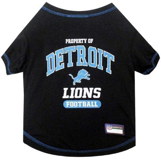 Pets First Dog-products NFL Small Detroit Lions Pet T