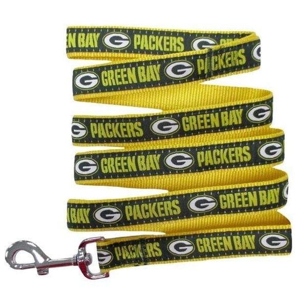 Pets First Dog-products NFL Small Green Bay Packers Pet Leash By Pets First