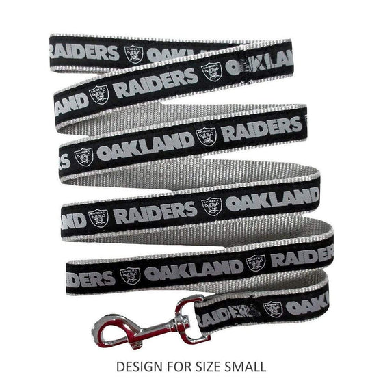 Pets First Dog-products NFL Small Oakland Raiders Pet Leash By Pets First