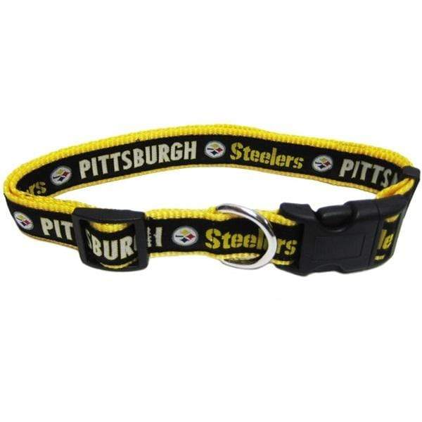 Pets First Dog-products NFL Small Pittsburgh Steelers Pet Collar By Pets First