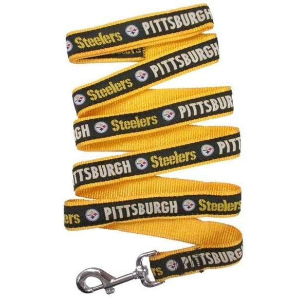 Pets First Dog-products NFL Small Pittsburgh Steelers Pet Leash By Pets First