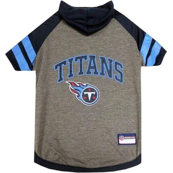 Pets First Dog-products NFL Small Tennessee Titans Pet Hoodie T
