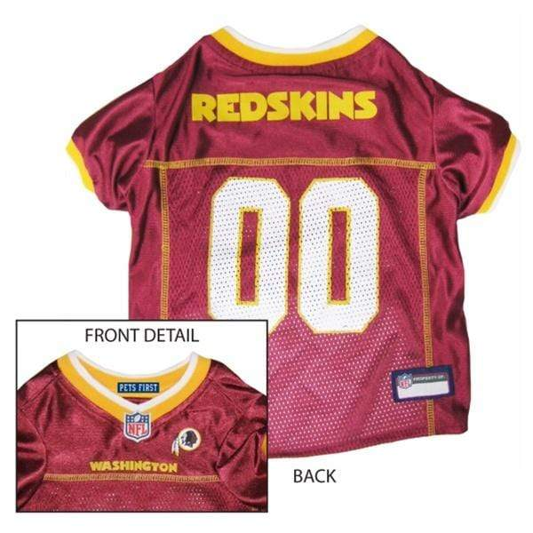 Pets First Dog-products NFL Small Washington Redskins Dog Jersey