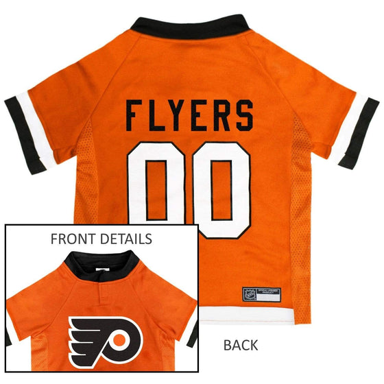 Pets First Dog-products NHL Small Philadelphia Flyers Pet Jersey
