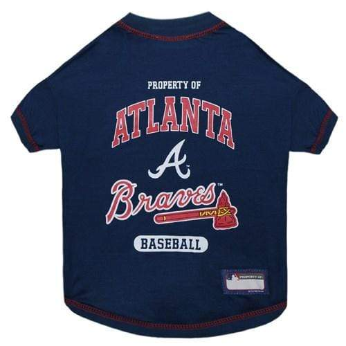 Pets First Dog-products MLB XL Atlanta Braves Pet T