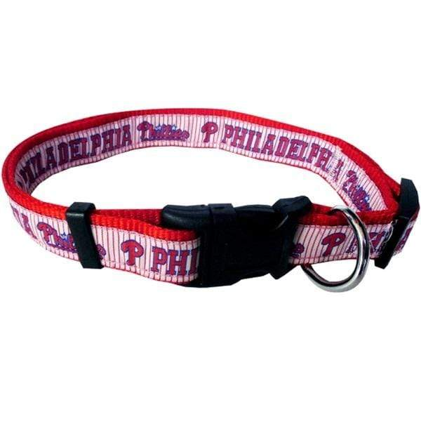 Pets First Dog-products MLB XL Philadelphia Phillies Pet Collar By Pets First