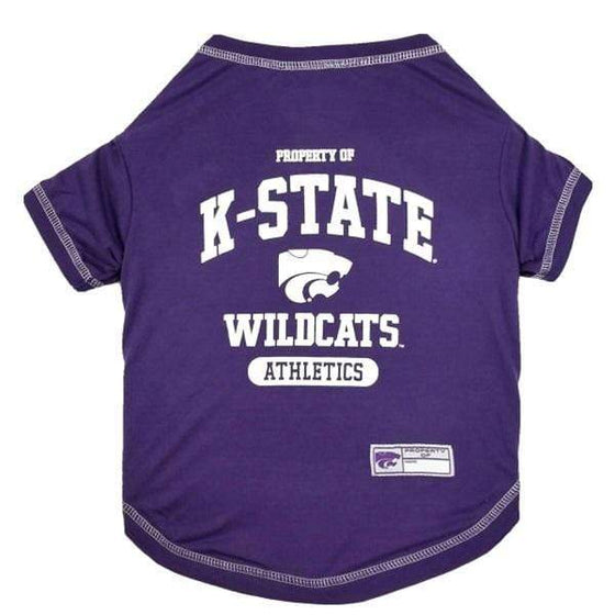 Pets First Dog-products NCAA XL Kansas State Wildcats Pet Tee Shirt