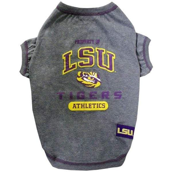 Pets First Dog-products NCAA XL Lsu Tigers Pet Tee Shirt