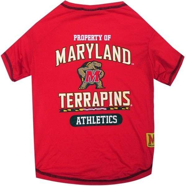 Pets First Dog-products NCAA XL Maryland Terrapins Pet T