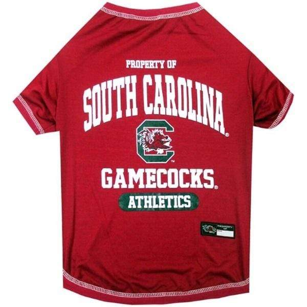 Pets First Dog-products NCAA XL South Carolina Gamecocks Pet Tee Shirt