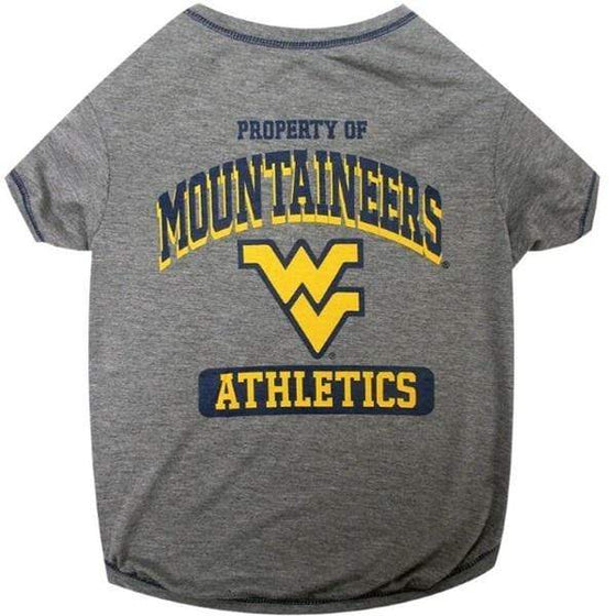Pets First Dog-products NCAA XL West Virginia Mountaineers Pet Tee Shirt