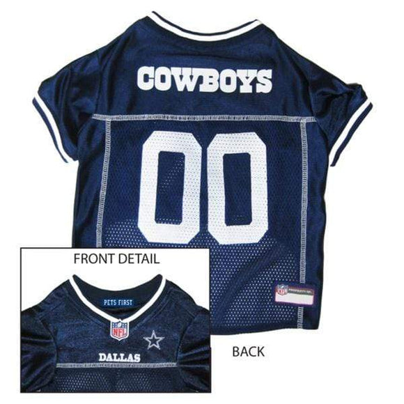 Pets First Dog-products NFL XL Dallas Cowboys Pet Jersey
