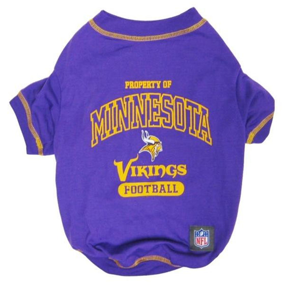 Pets First Dog-products NFL XL Minnesota Vikings Dog T